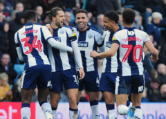 Baggies win away once again as Moore continues to impress